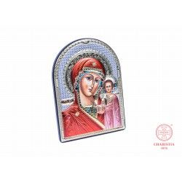 Ikona ze srebra - Matka Boża Kazańska