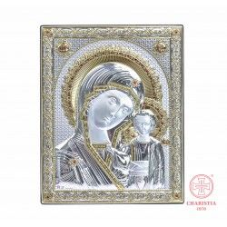 Ikona Srebrna - Matka Boża Kazańska