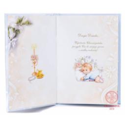 Obrazek Srebro - Anioł Stróż kwadrat