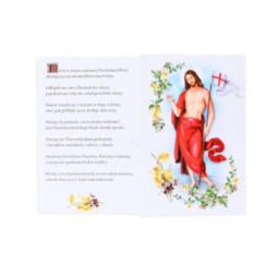 Ikona grecka - Rodzina Święta 23,5 cm x 18 cm
