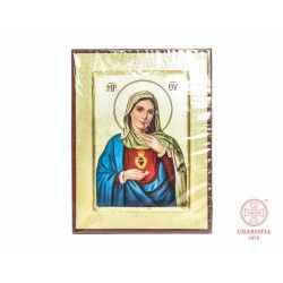 Ikona grecka - Matka Boża 23,5 cm x 18 cm
