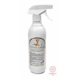 Brelok - Pan Jezus - Skóra czarna