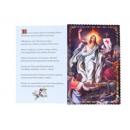 Kartka Wielkanocna 1 Złocona + koperta