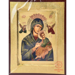 Ikona Bizantyjska 0S - Matka Boża Nieustającej Pomocy (2)