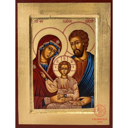Ikona Bizantyjska 1S - Rodzina Święta