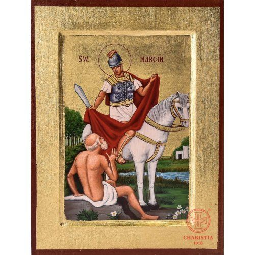 Ikona Bizantyjska 1S - Św. Marcin