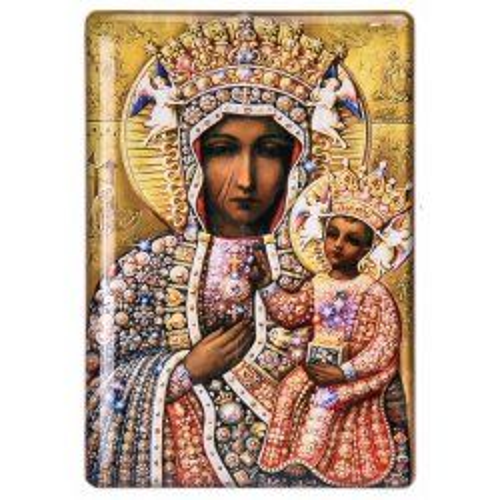 Magnes Matka Boża Częstochowska 5,5 cm x 8 cm