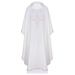 Koszula Kapłańska Biała roz. XL